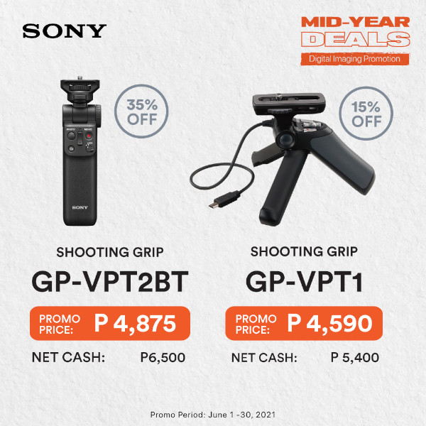 Sony Mid-Year Deals Accessories