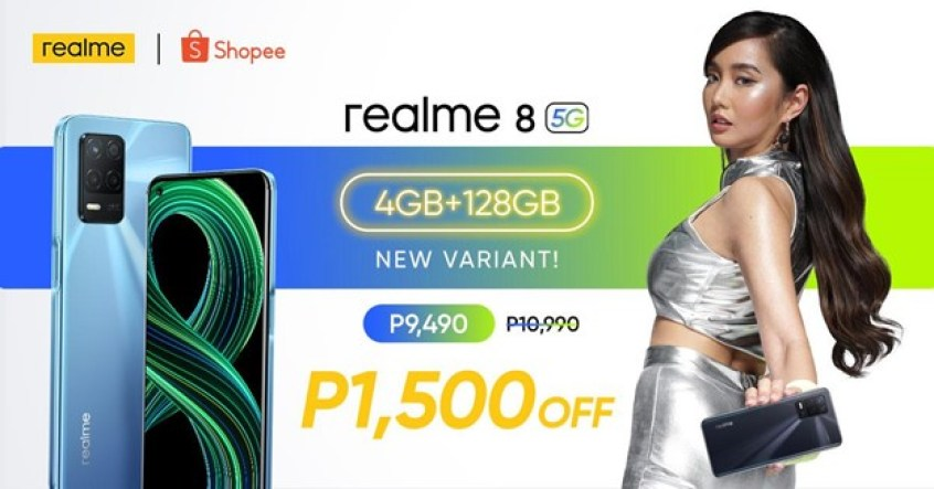 realme 8 5G 4GB + 128GB
