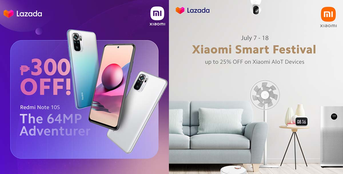 Up to 25% Off on Xiaomi Devices at the Lazada 7.7 Sale and Xiaomi Smart Festival