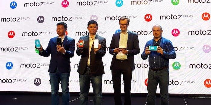 Peluncuran Moto Z 2 Play di Bangkok