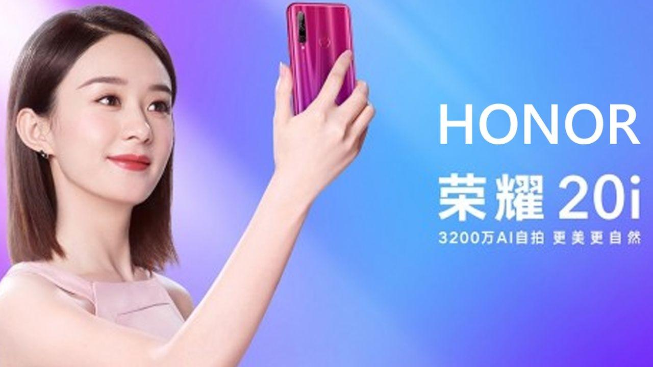 Honor 20I Resmi Dirilis, Andalkan Kamera Selfie 32Mp Dan Ram 6Gb