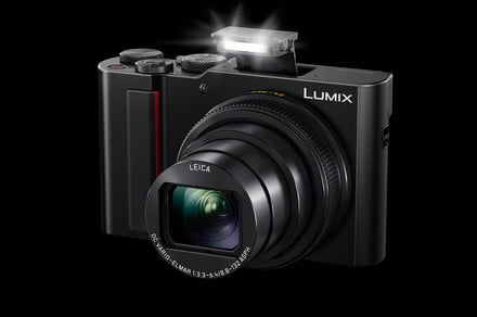 Panasonic ZS200 is an ultra-compact travel camera with 15x zoom and 1-inch sensor