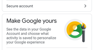 Google aims to show you how it uses your data