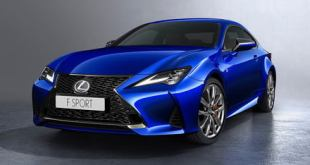 2019 Lexus RC coupe gets sleeker styling and stiffer suspension