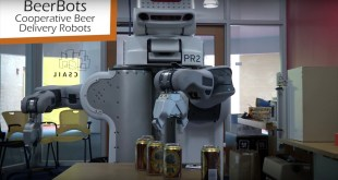Senator misses the point of 'beerbot' demo, tries to ban DoD funding