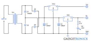 Block Diagram Of 5v Regulated Power Supply | Wiring Diagram