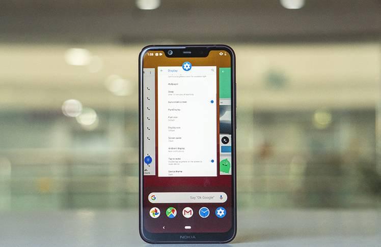Nokia 8.1 Software