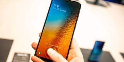 Samsung Galaxy A50 fingerprint