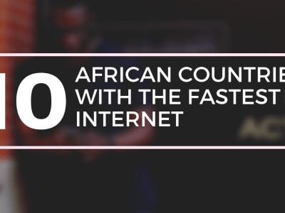 Internet speeds in Africa