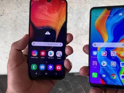 P30 lite vs Galaxy A50