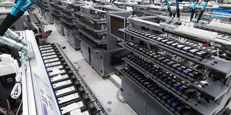 Phone assembly plant