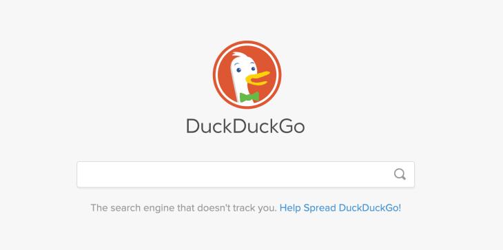 duckduck go, google alternative