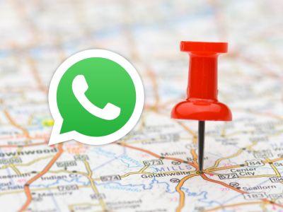 WhatsApp Pin Location
