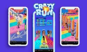 Crazy Run game baru di snapchat