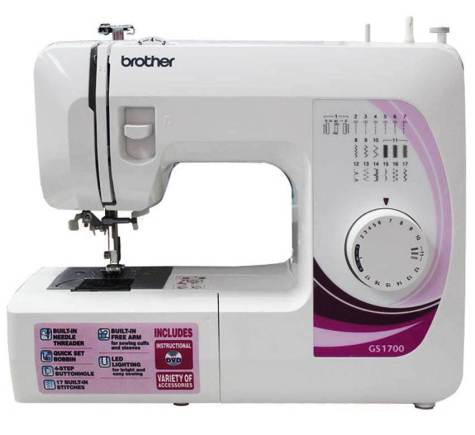 Brother GS 1700 Sewing Machine Review and Specifications