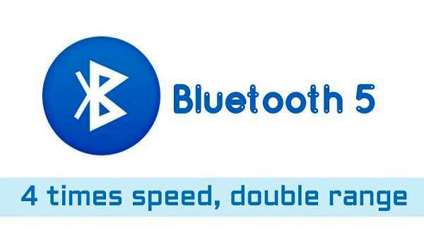 Four Times Faster Bluetooth 5