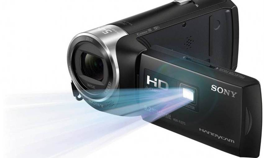 706c55170f9 Sony Handycam with Built in Projector Below 30000 Rupees