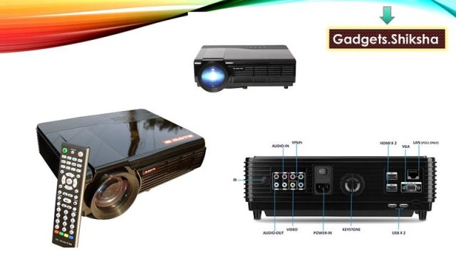 Egate P531 Portable Projector in 19000 Rupees