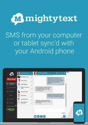 SMS Text Messaging PC Texting Android App