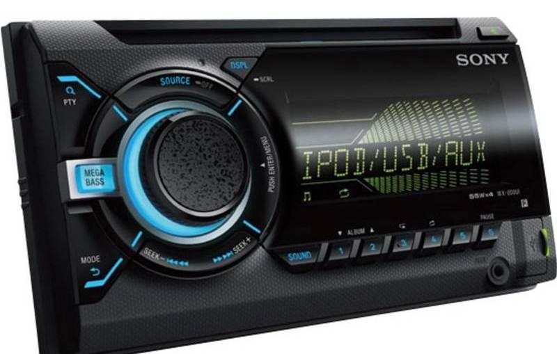 Sony WX-800UI Car Stereo Review and Specifications