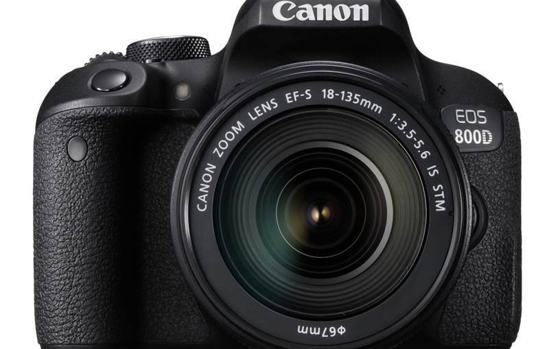 Canon EOS 800D Review and Specifications