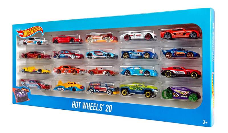 Hot Wheels Toy Cars Gift Pack