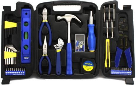 Goodyear Household Tool Kit with 31 Tools