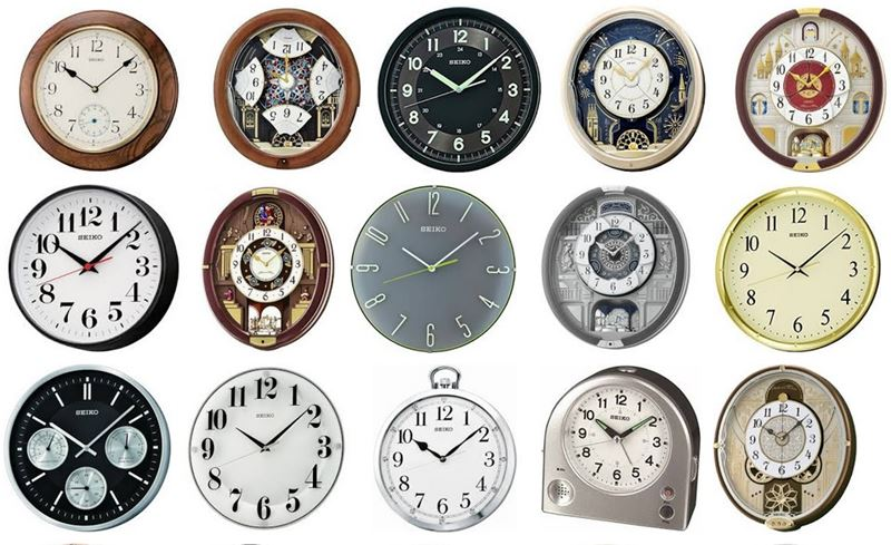 Online wall watch shopping