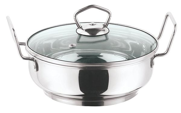 Vinod Cookware Induction Friendly Kadai