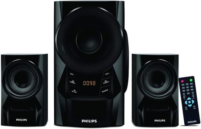 Philips MMS6080B Multimedia Speaker System
