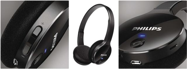 Philips Bluetooth Headphone with MIC SHB4000