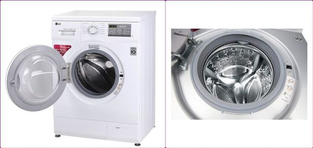 LG Fully-Automatic Inverter Washing Machine FH0FANDNL02