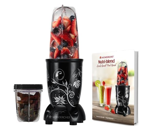 Wonderchef Nutri-Blend Portable Juicer Mixer Grinder