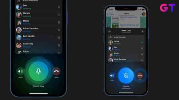 Voice Chatting Feature on Telegram