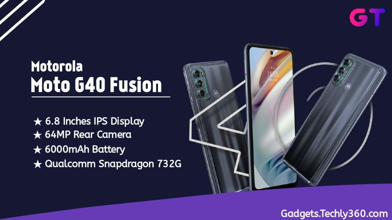 Moto G40 Fusion Specifications, Moto G40 Fusion price in india
