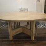 Round Rustic The Diy Dining Table To Step Up Your Woodworking Skills Gadgets And Grain