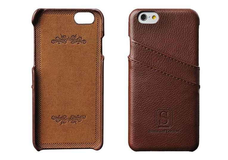 iPhone 6/6s Leather Case by Simons of London