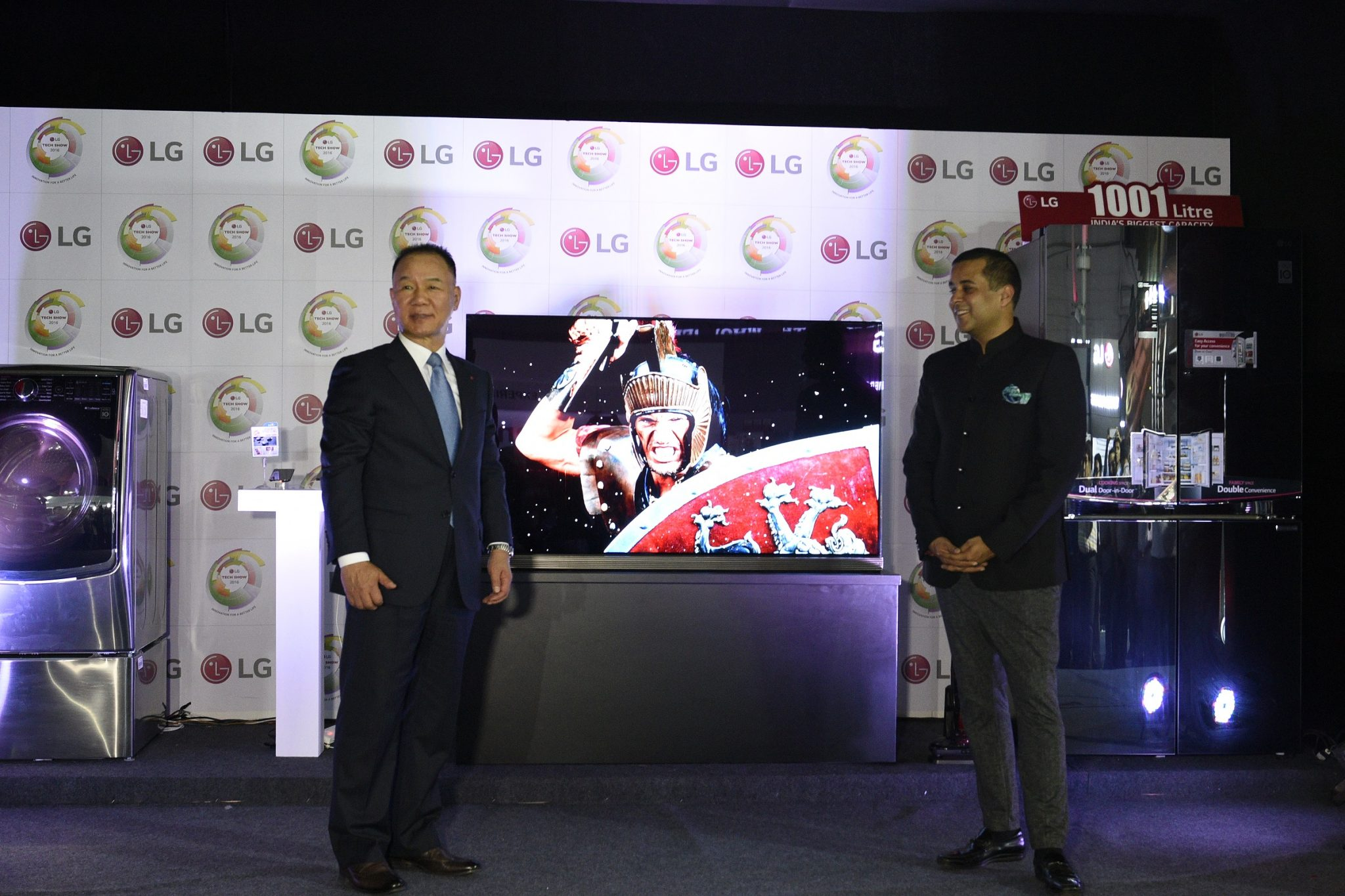 LG showcases its 'Signature Series' at Tech Show 2016