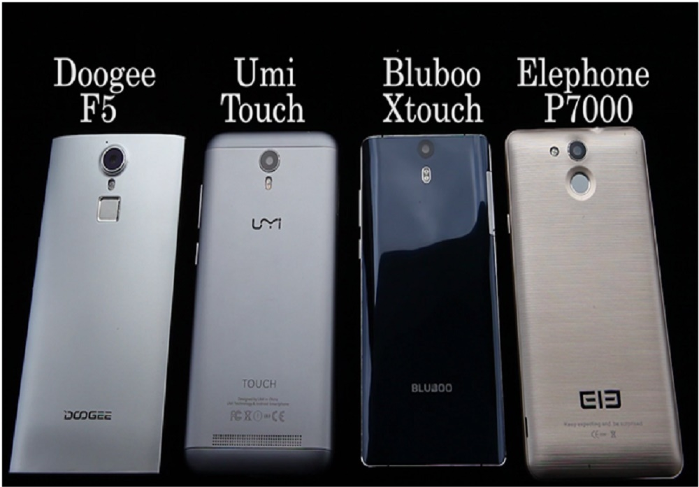 Comparison of 4 best and most affordable smartphones