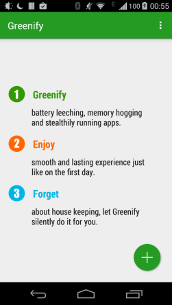 Greenify for Android