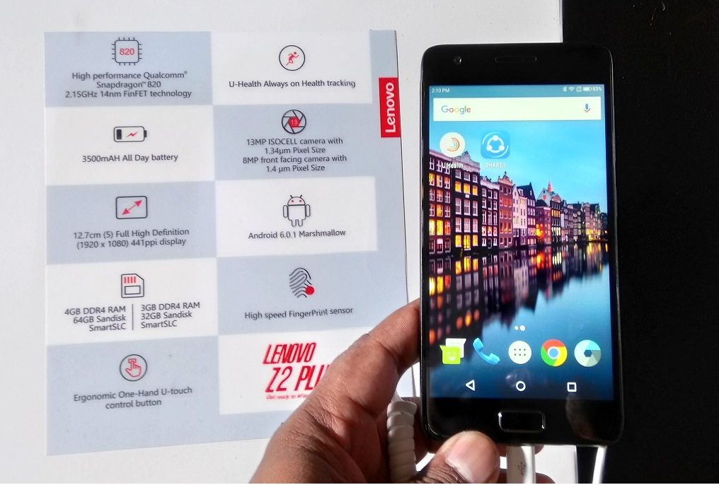 Lenovo Z2 Plus launched, Cheapest Snapdragon 820 Smartphone