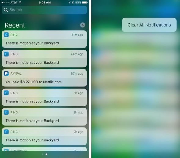 How to clear-all-notifications-ios-10