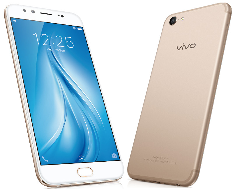 Vivo V5 Plus With Dual Front Cameras Launched