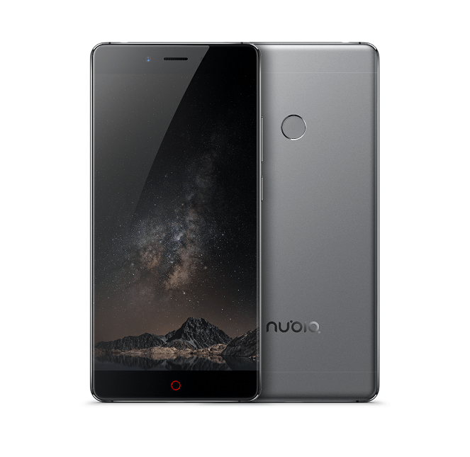 Nubia Z11 Now available in Scintillating Gray Color