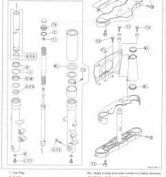 fork oil replacement diagram  [ 760 x 1068 Pixel ]