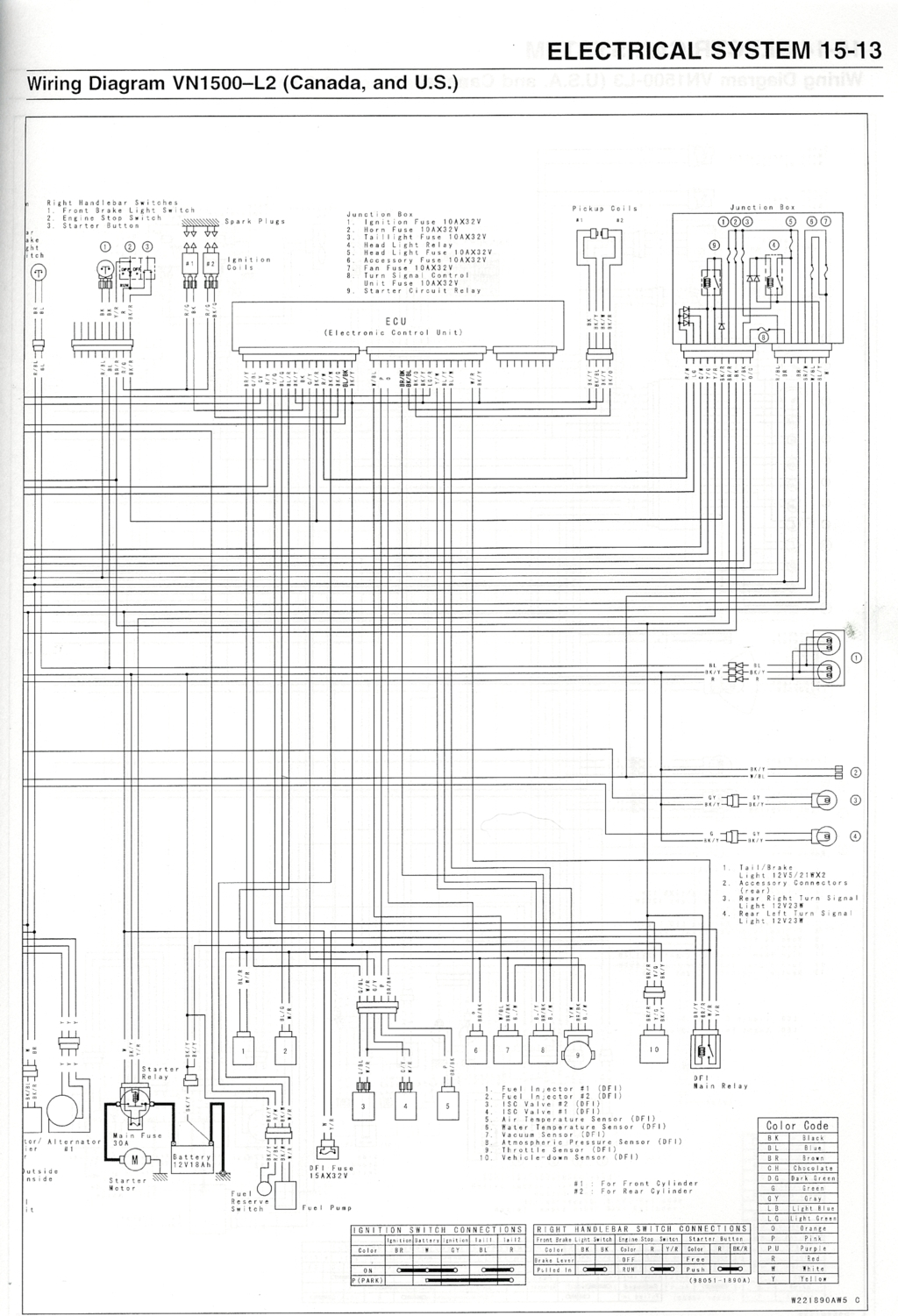 Vulcan Wiring Diagram