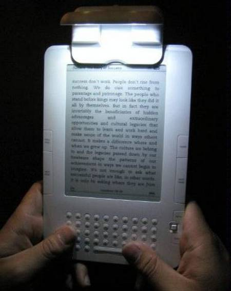 Kandle LED ebook light for your ebook reader  Gadgetsin