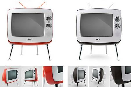 Sweet and retro Classic TV by LG  Gadgetsin