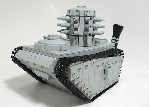 LEGO Steampunk Napoleonic era heavy transporter  Gadgetsin