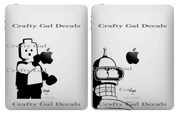 decal is the tattoo of iPad. About one month ago, we have introduced the